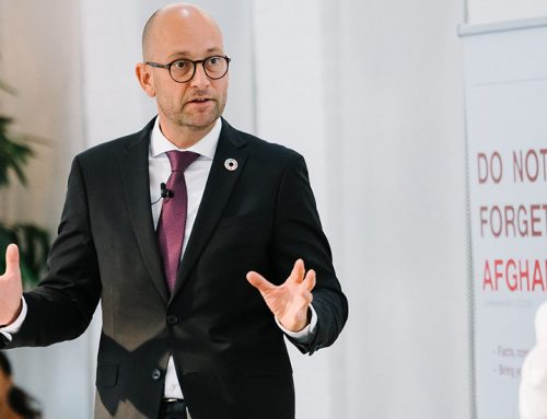 11.09.20: Danish Minister for Development Cooperation, Rasmus Preen (S), won't forget Afghanistan