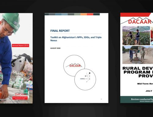 DACAAR Publishes New Studies and Reports