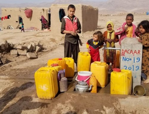 NNF and DACAAR collaborate to provide relief to drought IDPs in Afghanistan